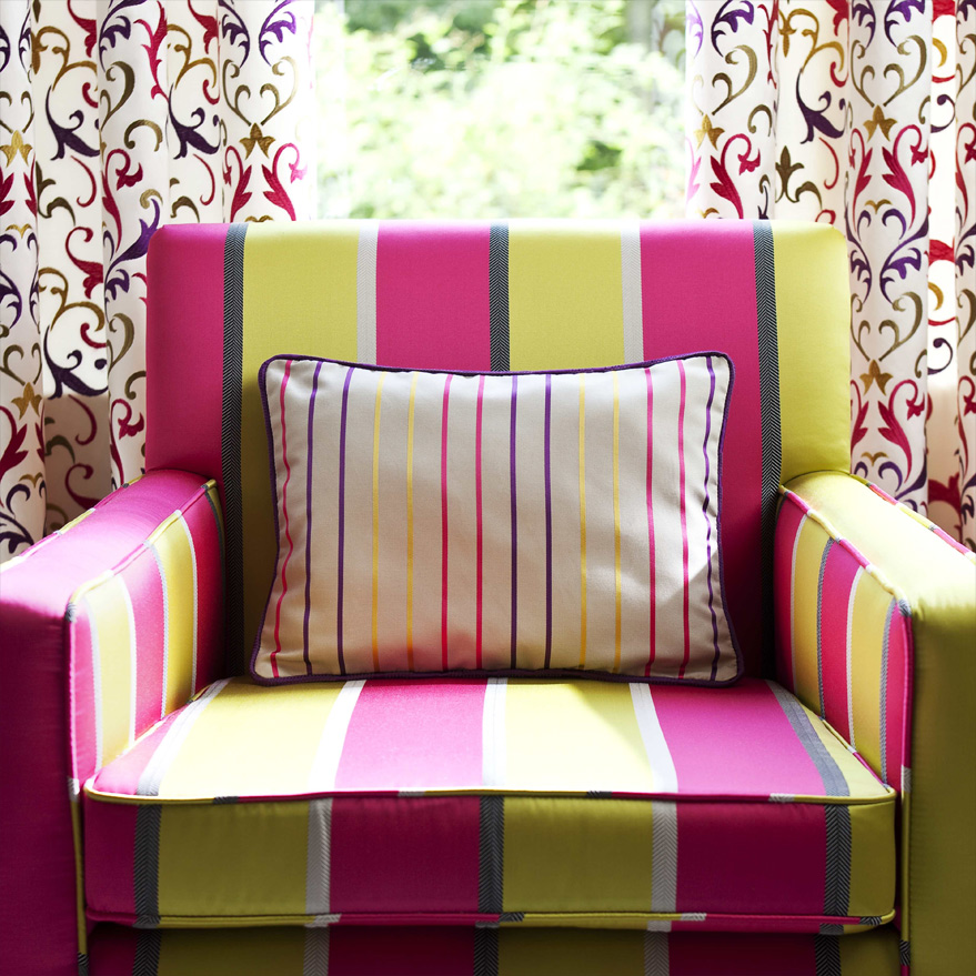 Loose Sofa Chair Covers Curtain Call Hand Made To