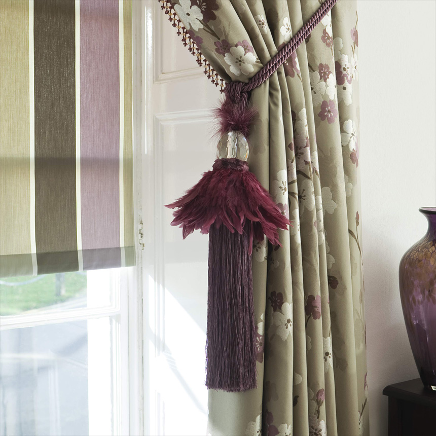 Tie Backs Curtain Call Hand Made To Measure Curtains